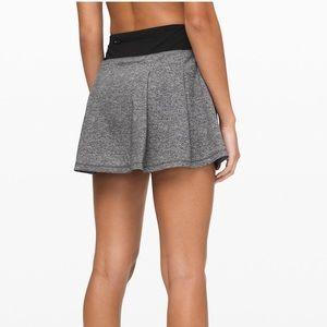 EUC lulemon run skirt